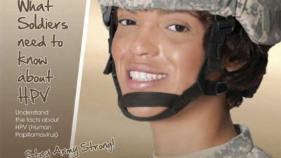 genital warts in the military